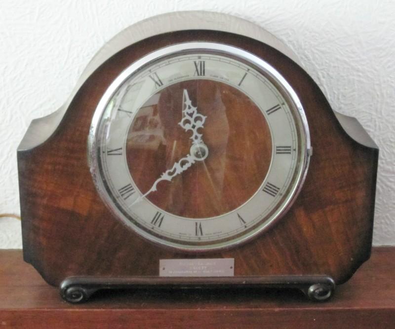 mantel clock plans